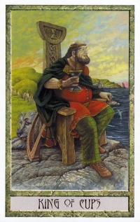 Druid Craft Tarot - King of Cups