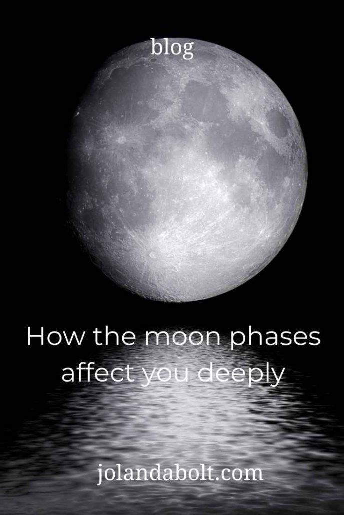 How the moon phases affect you deeply