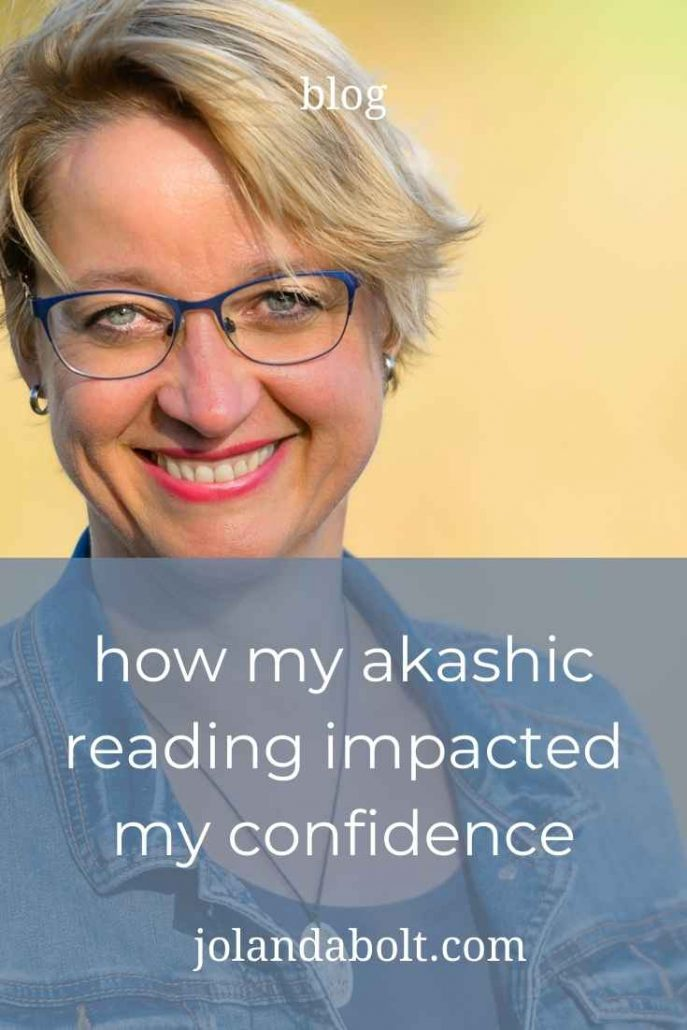 how my akashic reading impacted my confidence