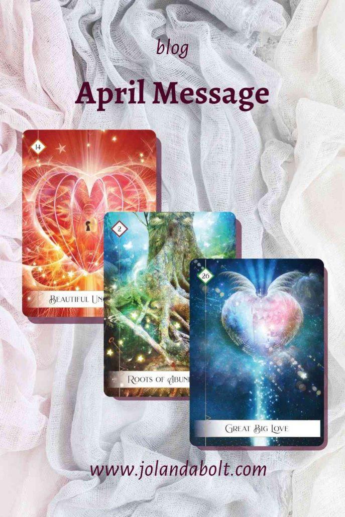 April Message; Self-sabotage