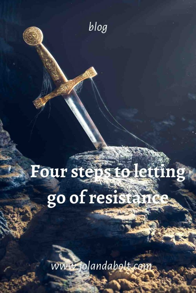 Four steps to letting go of resistance