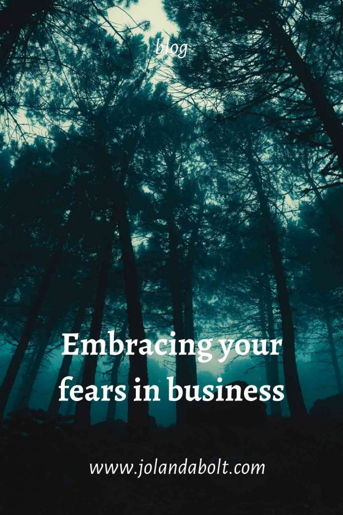 Embracing your fears in business