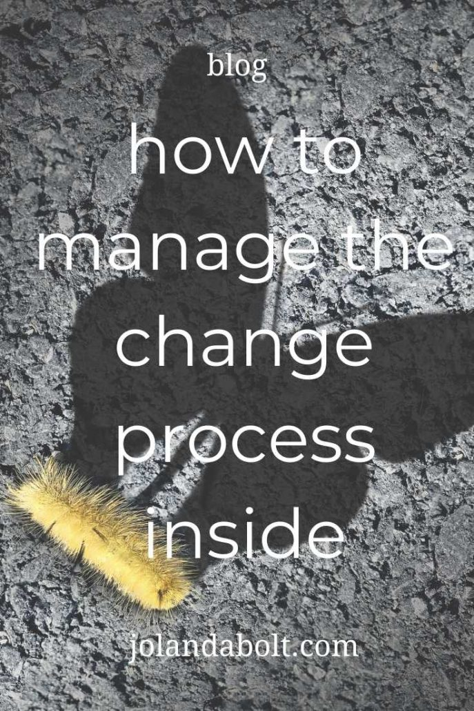 Manage the change process inside