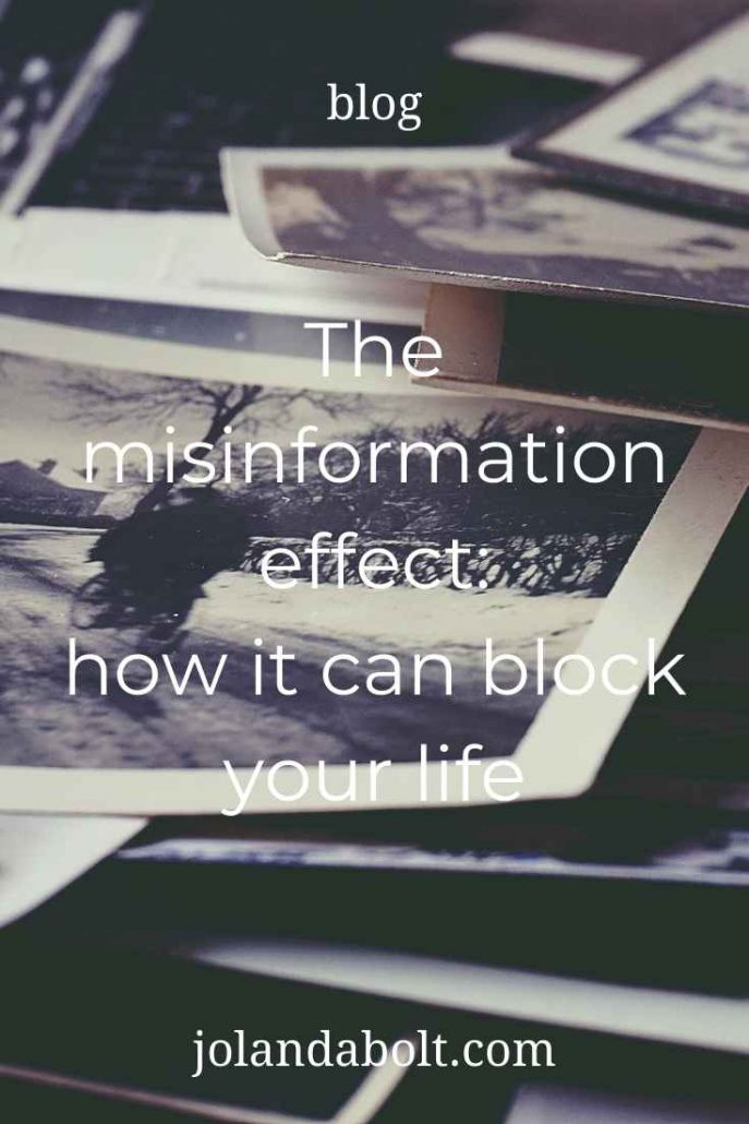 The misinformation effect: how it can block your life