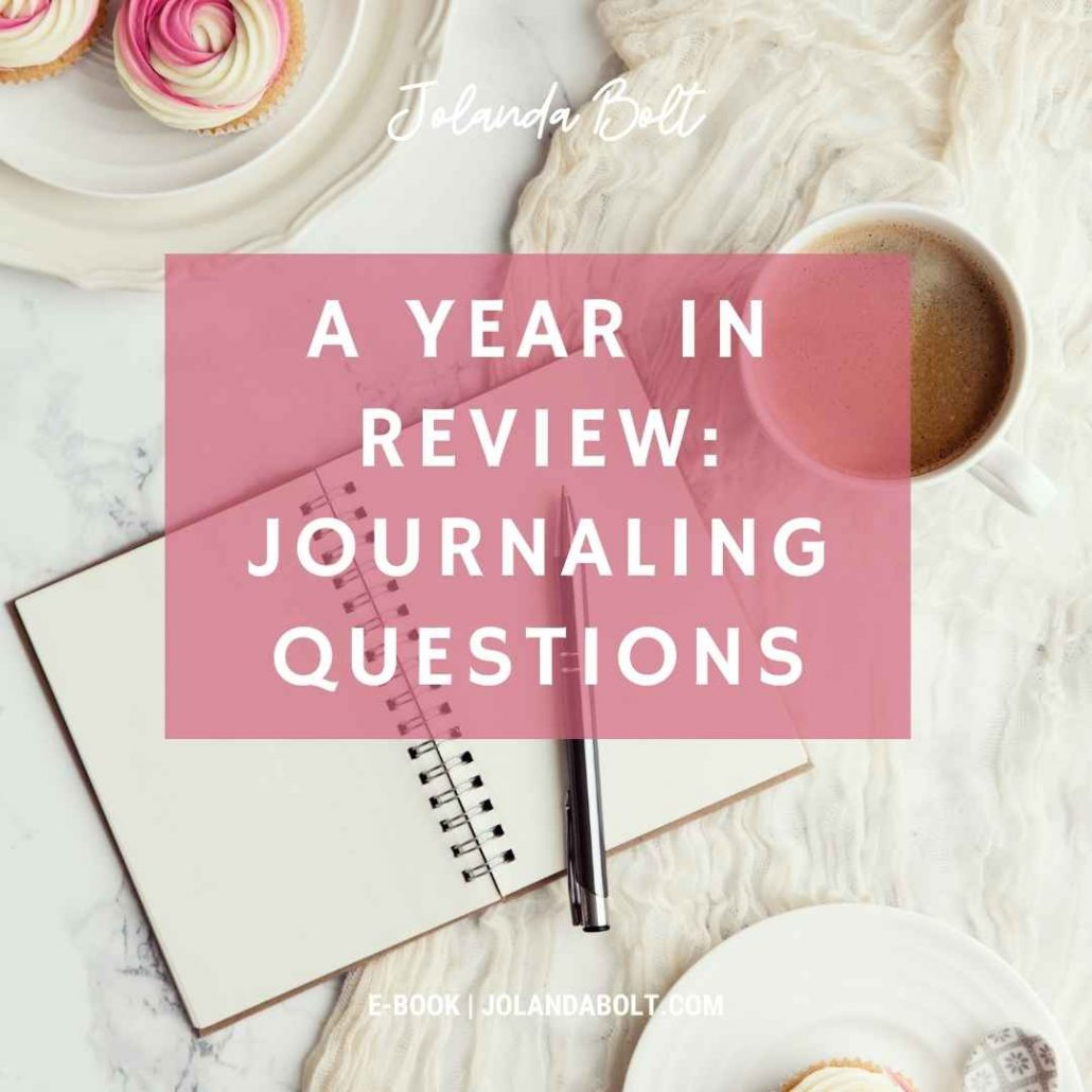 Journaling prompts for a year in review